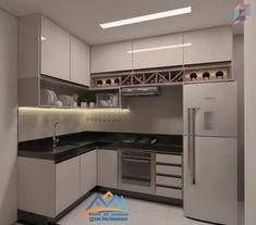 Este posibil ca imaginea să conţină: bucătărie şi interior Kitchen Design Small, Modern Kitchen Interiors, Kitchen Remodel Small, Kitchen Room Design, Kitchen Interior, Interior Design Kitchen, Kitchen Layout, Kitchen Furniture Design, Modern Kitchen Design