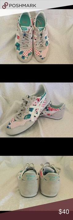 Onitsuka Tiger Women's Serrano Shoes Sz. 9 Onitsuka Tiger by Asics Serrano Round Toe Suede Sneakers  CONDITION: As good as new Onitsuka Tiger by Asics Shoes Athletic Shoes