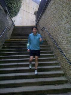 Simon stair training