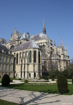 Cathedral of Reims by moerthammer.deviantart.com