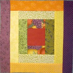 Here is Block of the Month #6, check out the pattern on DeniseClason.com