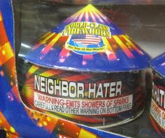 neighbor hater. when loving thy neighbor just isn't working.