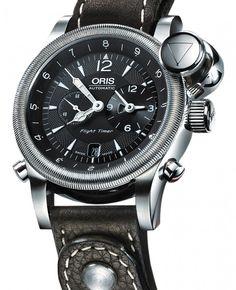 Oris   Big Crown Flight Timer 2 Limited Edition   Edelstahl   Uhren-Datenbank watchtime.net