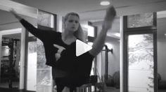 Der stolze Gatte postet Video: So beweglich ist Michelle Hunziker
