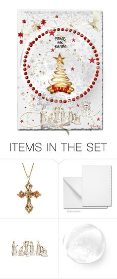 """""""Peace on Earth"""" by tarakaypoly ❤ liked on Polyvore featuring art, polyvorecommunity, polyvoreeditorial, Christmas2015 and holidaycard"""