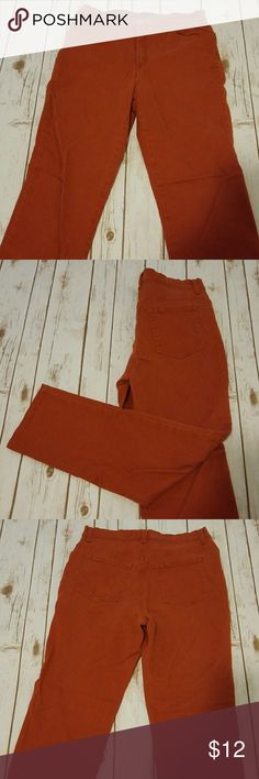 10 Gloria Vanderbilt Rust Orange Skinny Jeans . Gloria Vanderbilt Jeans Skinny