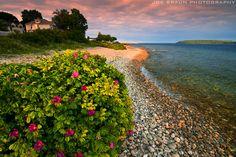 Mackinac Island sunset (Mackinac Island, Michigan)