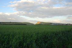 Arbel Seen from Kefar Zeitim