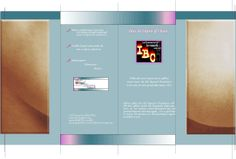 IBC Brochure outside. Created and designed with CS Illustrator and Photoshop. Artwork: Ginny D KG Design LLC