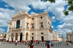TEATRO LA CARIDAD is a theatre in Santa Clara, Cuba.  It is one of the last  remaining colonial buildings of its kind in the country.
