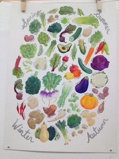 A print I have for my kitchen - via Melinda Tracy Boyce from @Paper Party