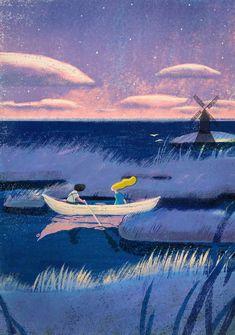 Lisk Feng Illustrations – Fubiz Media Fantasy Art, Children's Book Illustration, Character Illustration, Digital Illustration, Totoro, Croquis, When Marnie Was There, Wattpad, Ghibli Movies