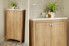 Wooden country cottage bathroom furniture from Utopia Bathrooms. Wooden Bathroom, Bathroom Ideas, Fitted Bathroom Furniture, Bathroom Storage Units, Cottage Style Bathrooms, Solid Surface, Furniture Decor, Base, Autumn