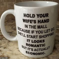 Always hold you wife's hand in the mall. #9gag @9gagmobile
