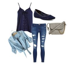 """Untitled #84"" by mburghardt on Polyvore featuring Sans Souci, J Brand and Diane Von Furstenberg"