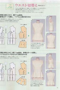 【转载】日本文化服装 2012年春号服装裁剪杂志 - 苹果园的日志 - 网易博客 - blouses, button up, sheer, peasant, jeans, jeans blouse *ad