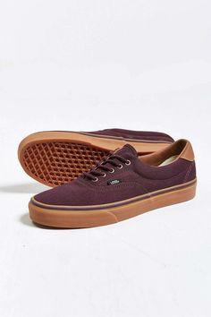 Maroon Gum-Sole Sneaker