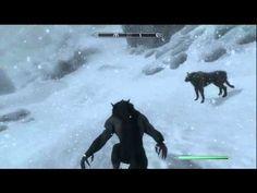 Skyrim: Werewolf transformation #skyrim #dawnguard #hearthfire