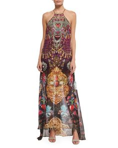 CAMILLA Milagro Charm Mixed Print Maxi Dress Milagro Charm $625 (Compare at $700 elsewhere) ANNE'S at THE TRUMP BUILDING NYC annesofnewyork.com