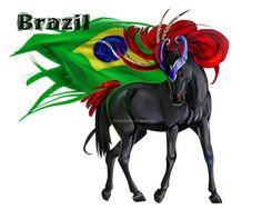 Horse Hetalia: Brazil by MUSONART