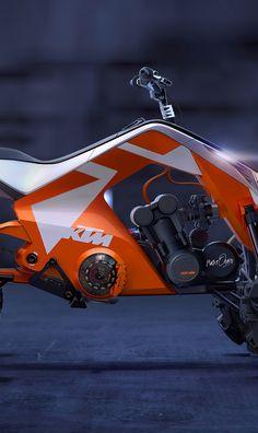 KTM X2 HYBRID by Anssi Mustonen, via Behance