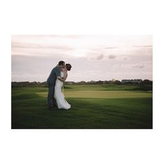Happy Anniversary to Margaret & Brad! Loved shooting their wedding out on Kiawah