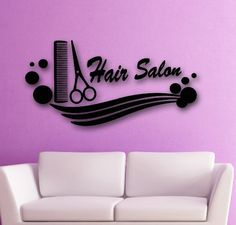 Wall Stickers Vinyl Decal Hair Salon Barbershop Scissors Beauty Comb Spa (i633) Wallstickers4you http://www.amazon.com/dp/B00IAO5ODQ/ref=cm_sw_r_pi_dp_O3gjwb0JA791H