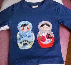 Pinchando en la imagen podrás acceder al patrón de las muñecas Matrioskas para confeccionar en patchwork sin aguja