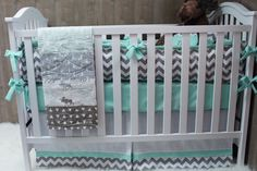 Baby Boy/Girl  Nursery Bedding  Crib Set  Woodland  by Babylooms