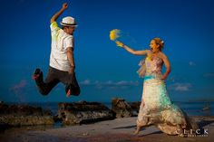 "Add color to your wedding day, an original way to ""trash the dress"".   #wedding #weddings #trashthedress #weddingphotographer #weddingphoto #weddingphotography #colors #weddingdress #weddingday #weddingparty #weddingplanning #weddinginspiration #boda #fashion #destinationwedding #mexicoweddings #weddingplanner #weddingideas #bodasmexico #weddingphotographersrivieramaya #clickphotographersweddings #photography…"
