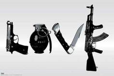 Steez (Love  Weapons) Art Poster Print: http://www.amazon.com/24x36-Steez-Weapons-Poster-Print/dp/B005MKZZKI/?tag=livestcom-20