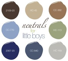 When it comes to painting boys bedrooms, it can be hard to find a nice tone that will both match accessories and be grounding to the room. It's all about finding those perfect neutral tones, …