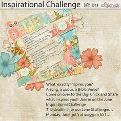 Very Varied: INSPIRATION CHALLENGE - June 2014