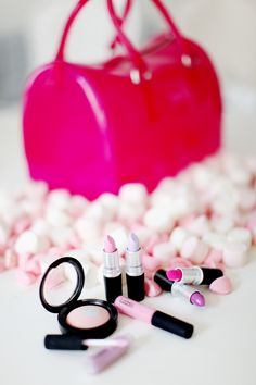 would be cute to do this for a bride as she gets ready