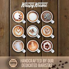 Krispy Kreme and coffee - a match made in heaven
