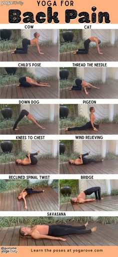 Try this 10 Minute yoga routine for beginners to relieve tension and tightness i. Try this 10 Minute yoga routine for beginners to relieve tension and tightness in all of the areas that contribute to your back pain! Yoga Poses For Back, Yoga For Back Pain, Yoga Stretches For Back, Relieve Back Pain, Ashtanga Vinyasa Yoga, Iyengar Yoga, Yoga Flow, Yoga Meditation, Namaste Yoga