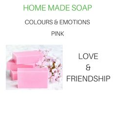 Home Made Soap, Pink Love, Soap Making, Place Cards, Place Card Holders, Colours, Homemade, Homemade Dish Soap, Home Made