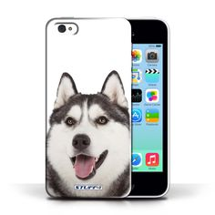 Designer Mobile Phone Case / Dog Breeds Collection / Husky #designer #case #cover #iphone #smartphone #dog #animal #husky