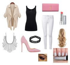 """""""Pink Powder-Shoes"""" by meg-marshall on Polyvore"""