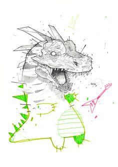 illustrations 2014 - part 03 on Behance