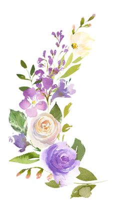 Popular and Trending flower Stickers on PicsArt Watercolor Paintings For Beginners, Watercolor Projects, Watercolor Plants, Watercolor Cards, Watercolor Illustration, Floral Watercolor, Crown Painting, Flower Painting Canvas, Saree Painting Designs