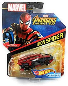 Hot Wheels Character Cars Iron Spider First Appearance Marvel Avengers Infinity War Hot Wheels Display, Bow And Arrow Set, Giant Stuffed Animals, Iron Spider, Hot Wheels Cars, Lightning Mcqueen, Thundercats, Infinity War, Strollers