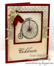 Create With Christy: Feeling Sentimental SAB Card