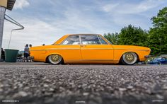 Worthersee (2014) Si Gray Audi 100 Coupe - Orange