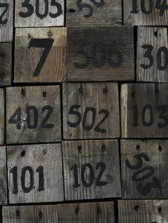 Méchant Design: wood blocks