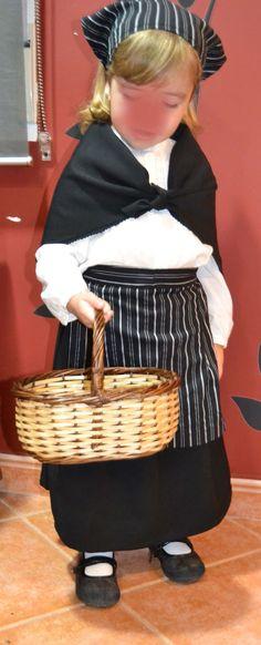 DIY: De camisa a traje de castañera... | DIY Mis cosas de Casa