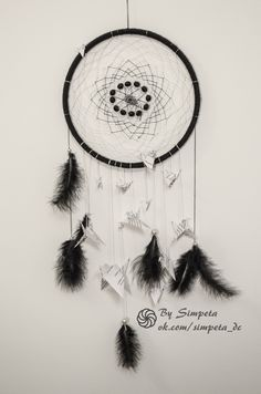 A charming dream catcher is made by hand. Author's idea. I make to order. Forwarding all over the world.