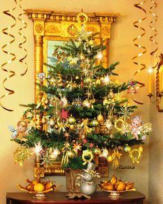 Animated Christmas Tree, Merry Christmas Gif, Holiday Decor, Home Decor, Decoration Home, Room Decor, Interior Decorating