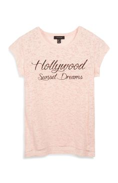 Pink Hollywood Top