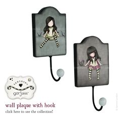 Gorjuss Wall Hooks – latest news from Santoro. Shop the collection here: http://www.santoro-london.com/shop/collections/gorjuss/
